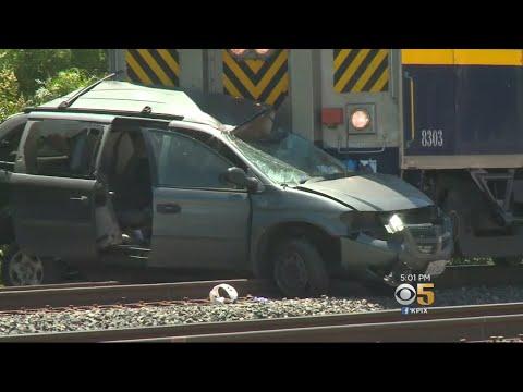 Woman Seriously Injured In Newark Amtrak Train Collision
