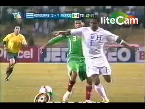 Honduras VS México Eliminatoria 2009 3-1