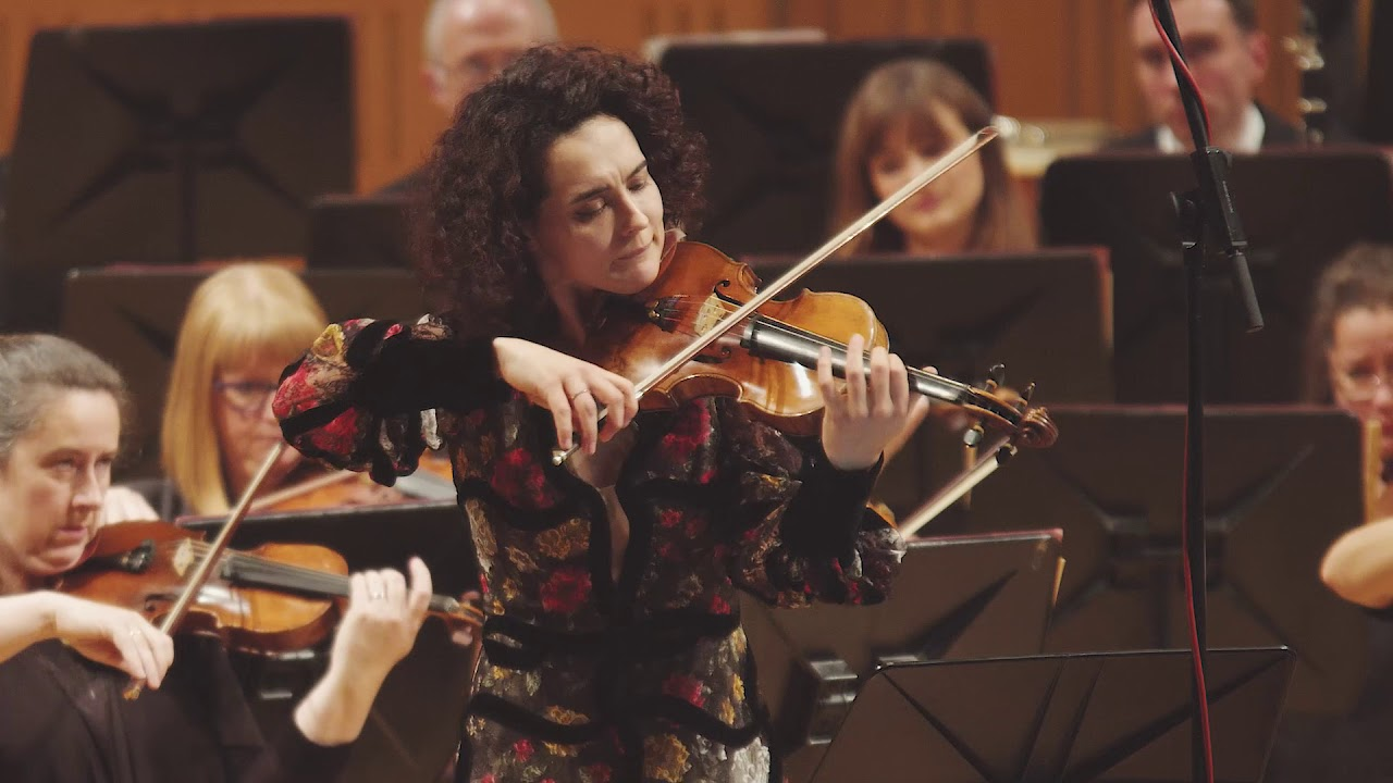 Schumann Violin Concerto in D minor, WoO 23, 1st mvt (RTÉ NSO/John Wilson)