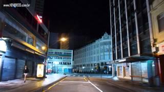 Centro de Curitiba a Noite
