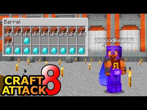 DEAL mit Crocodileandy! Wir brauchen Material! - Minecraft Craft Attack 8 #50
