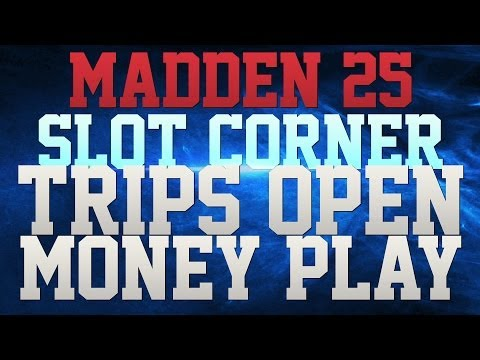 MADDEN 25 TIP – OFFENSIVE MONEY PLAY!! – SLOT CORNER – DESTROY DEFENSES!!!