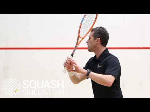 Squash tips: David Palmer on volleying with height