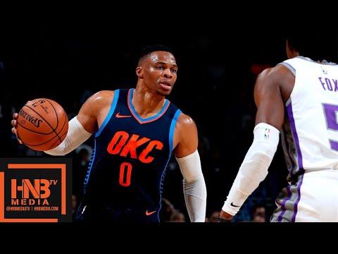 Oklahoma City Thunder vs Sacramento Kings Full Game Highlights | 10.21.2018, NBA Season_Sport videók