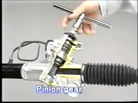 замена лепестка в рулевой рейки на тойота это специальный