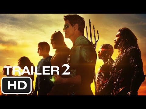 Zack Snyder's Justice League (Trailer #2) Green Lantern Appear - DC Movies Trailer Concept