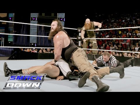 Braun Strowman & Erick Rowan vs. Local Competitors: SmackDown, June 30, 2016