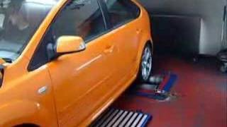 Focus ST / XR5 on Dyno with Turbo Back Exhaust (5.5.07)