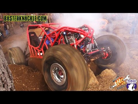 bouncing - DVDs & APPAREL - http://www.bustedknuckle.com Rock Bouncer hit the V-Notch Obstacle at Morris Mountain ORV park in Heflin, Alabama during the Annual RBD Even...