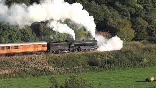 Video 63395 in trouble as it starts the climb through the Esk Valley. NYMR 2015 09 27 MP3, 3GP, MP4, WEBM, AVI, FLV Juli 2019