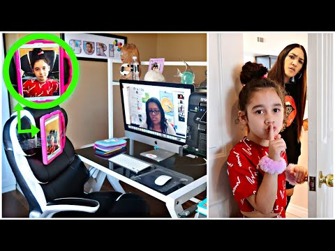 We CAUGHT Suri Faking Her ONLINE Zoom CLASS!! *Shocking*   Jancy family