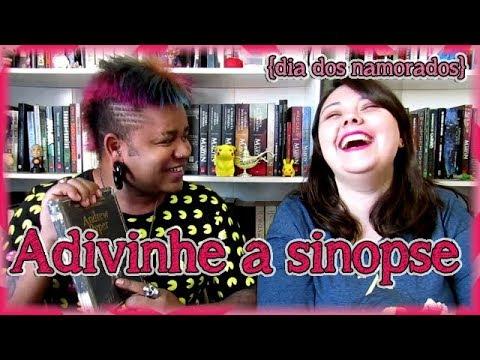 Adivinhe a sinopse feat. Piérre - Desafio Especial Dia dos namorados | Louca dos livros 2018