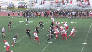 Belleville (MI) United States  city images : Belleville (MI) vs Monroe (MI) Scrimmage 2014