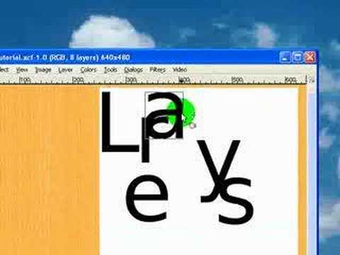Gimp Tutorial: Layers – The Basics
