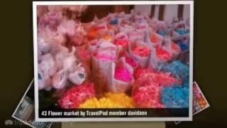 Flower Market - Bangkok, Thailand