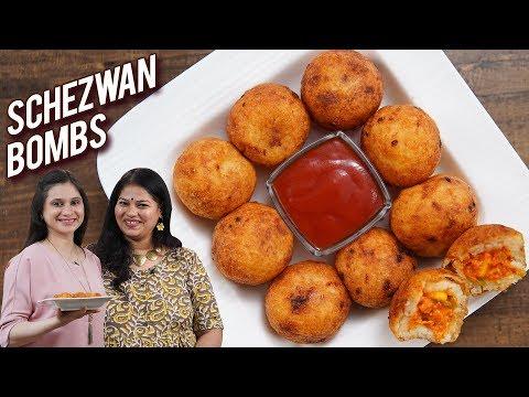 Schezwan Bombs – How To Make Schezwan Balls At Home – Women's Day Special With Ruchi