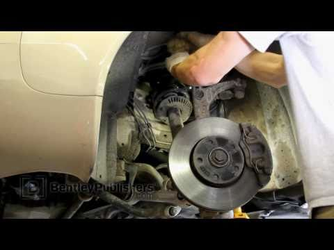 Audi A6 (C5) 1998-2004 – Front upper control arm replacement DIY, how to