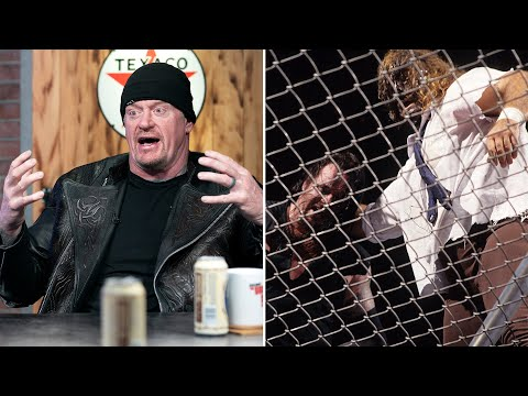 Undertaker relives Mankind's Hell in a Cell fall: Broken Skull Sessions sneak peek