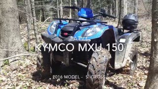 6. Kymco MXU 150 Youth ATV