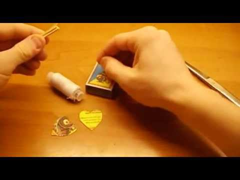 Видео как сделать дротик