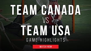 www.lax.com - Held at Reese Stadium in New Haven, CT, the USA Women's National Lacrosse team took on Team Canada in an exhibition showdown between the two po...