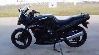 10. 2009 Kawasaki 500R Ninja Black