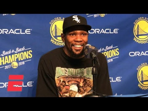 Video: Steph Curry's jump shot doesn't come from his dad – Kevin Durant | NBA on ESPN