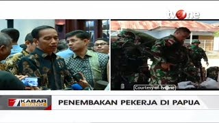 Video Presiden Jokowi Angkat Bicara Soal Penembakan Pekerja di Papua MP3, 3GP, MP4, WEBM, AVI, FLV Desember 2018