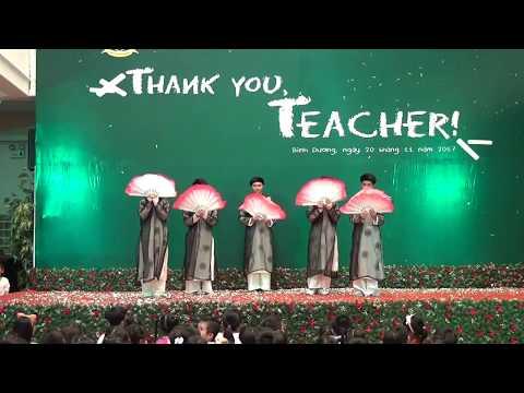 """Thank you, Teacher 20.11 """"Nghĩa sư đồ-khối 8"""""""