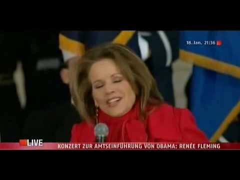 Renée Fleming  –   You ll Never Walk Alone  – The Obama Inaugural Celebration Concert (LIVE)
