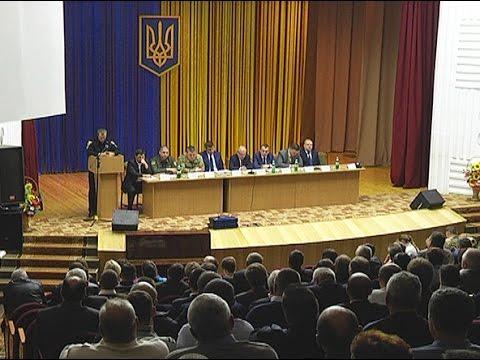 Голова облдержадміністрації  провів нараду щодо стану профілактики правопорушень та дотримання законності в області