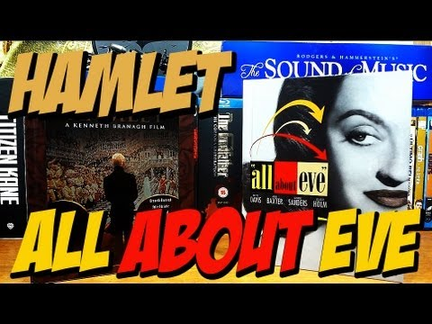 All About Eve & Hamlet (Blu-ray Books)
