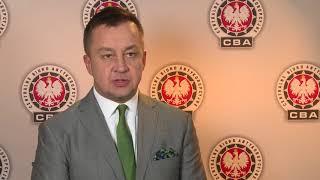 Piotr Kaczorek z CBA o zatrzymaniu Burmistrza