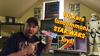 Video 10 Rare Uncommon Star Wars Toys MP3, 3GP, MP4, WEBM, AVI, FLV Juni 2018