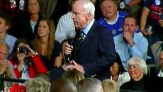 McCain Counters Obama 'Arab' Question