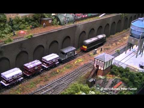 Peterborough Model Railway Exhibition 2012 HD