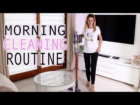 PULISCO TUTTA LA MIA CASA CON VOI ✨ MORNING CLEANING ROUTINE