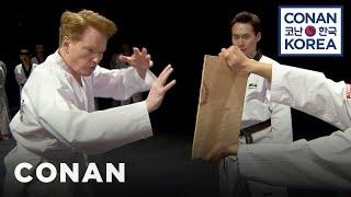 Video Conan Becomes A Tae Kwon Do Master MP3, 3GP, MP4, WEBM, AVI, FLV Oktober 2018