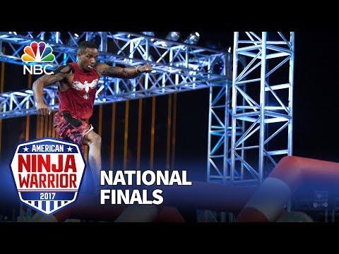 Najee Richardson at the Las Vegas National Finals: Stage 1 - American Ninja Warrior 2017