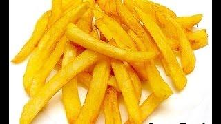French Fries Home made  / Crispy French-fried potatos