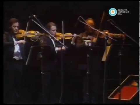 Visita del presidente del Brasil Sarney en el Teatro Colón, 1986 (parte I)