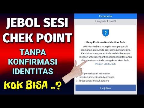 Cara membuka FB Kena Sesi Tanpa Konfirmasi Identitas 2020 | Fb Check Point