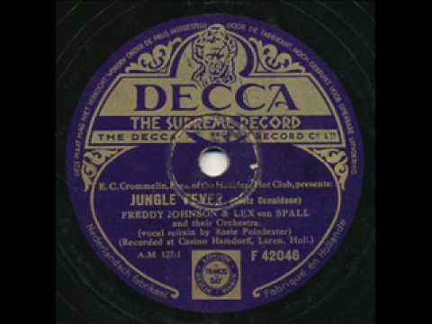 Freddy Johnson & Lex Van Spall, Jungle Fever. Holland 1934 online metal music video by FREDDY JOHNSON