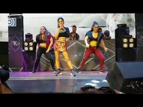 Así fue la primera actuación en directo de Chabelita Pantoja
