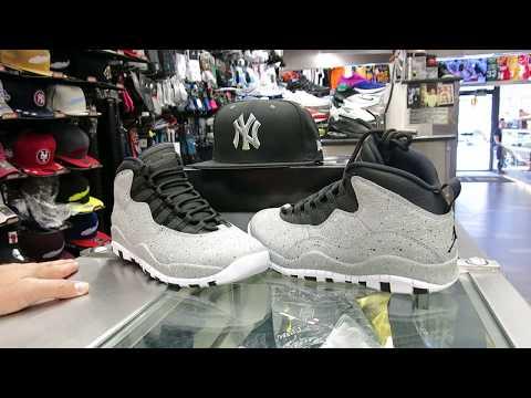 Nike Air Jordan Retro 10 - Cement Grey, at Street Gear, Hempstead NY