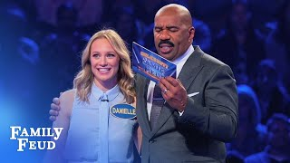 Video Station 19 are on FIRE in Fast Money! | Celebrity Family Feud MP3, 3GP, MP4, WEBM, AVI, FLV September 2018