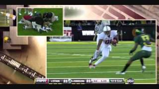 Cliff Harris vs Stanford 2010