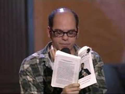 David Cross reads from Goodpussy