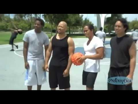 Funny Basketball Commercial