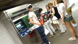 Meeting Niall Horan in New York subway
